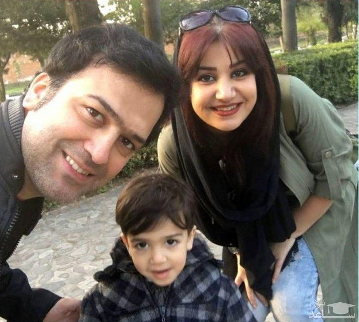 بیوگرافی و عکس جدید حامد آهنگی و همسر و فرزندش