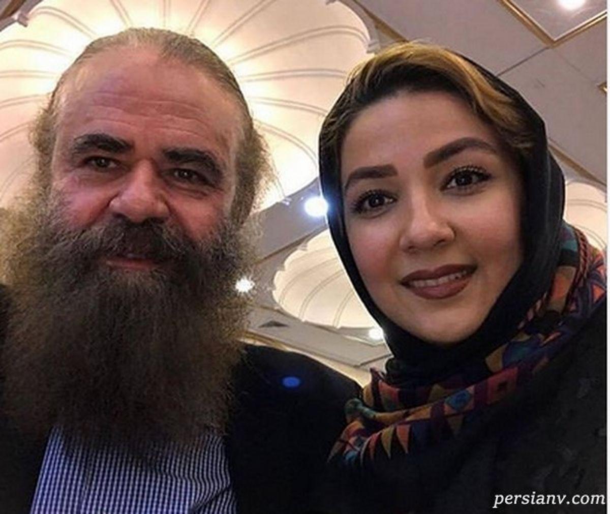 اختلاف سنی سارا صوفیانی و همسرش چند سال است؟