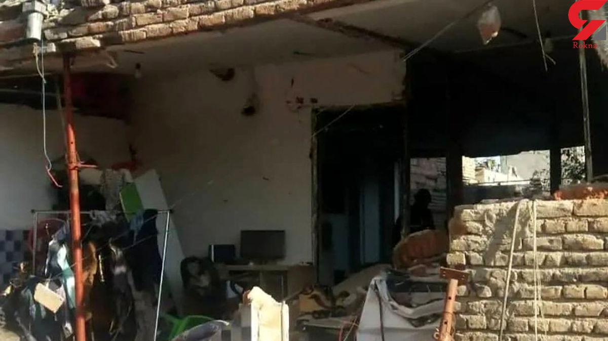 انفجار هولناک در اردبیل؛ 5 نفر سوختند +عکس