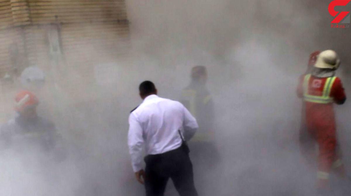 خودسوزی مرد رشتی جلوی چشم مردم در خیابان! +عکس