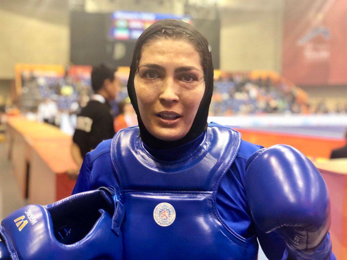 ورزشکار معروف الهه منصوریان به دردسر افتاد