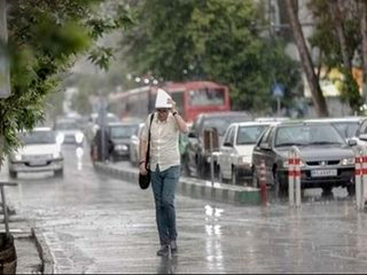 هشدار هواشناسی؛ وقوع رگبار و وزش باد در این استان ها
