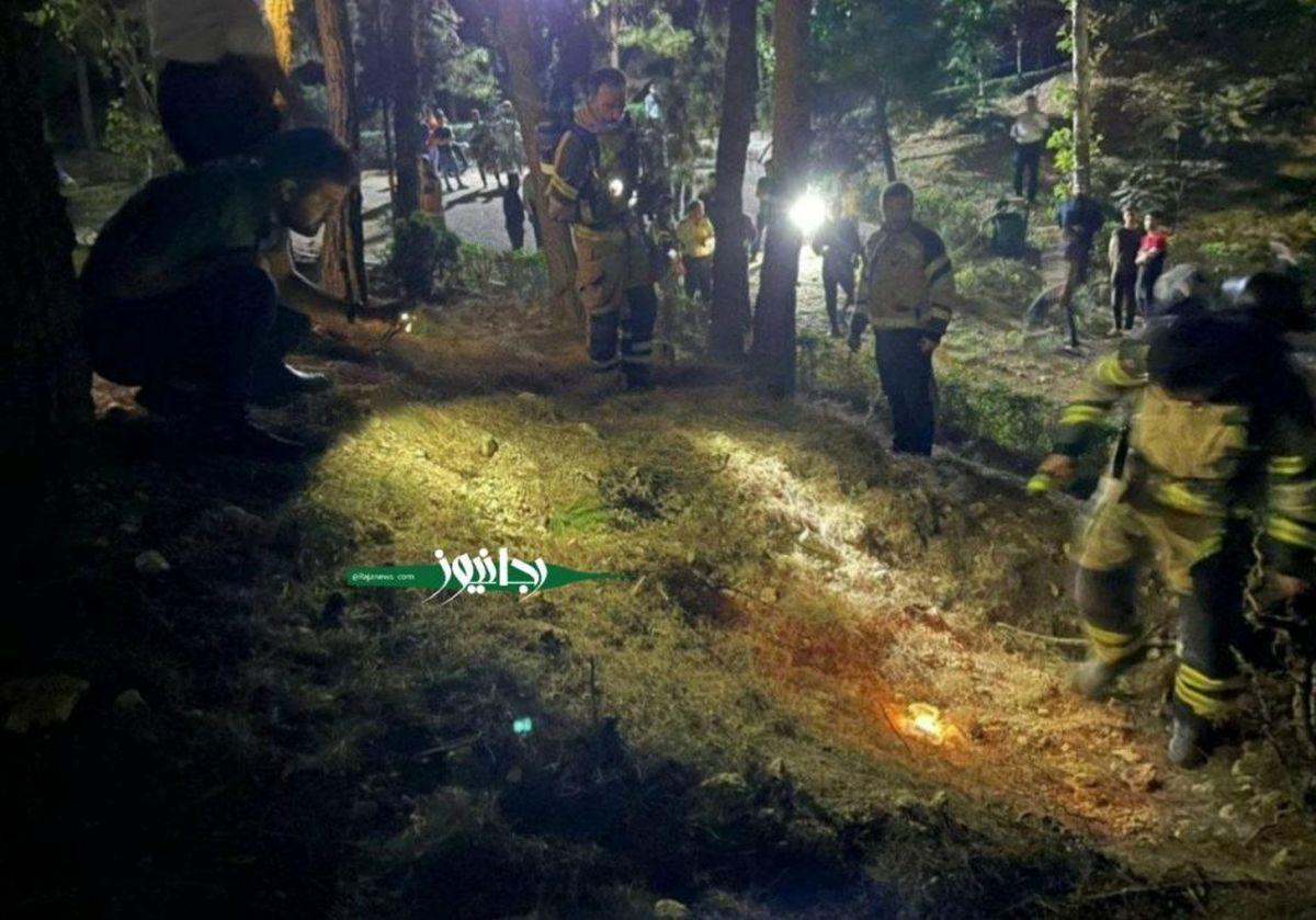 گزارش جدید آتش نشانی درباره انفجار در تهران