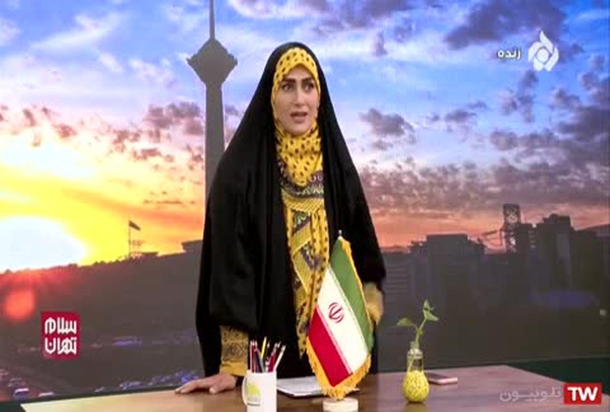 تیکه های مجری تلویزیون به دولت از شدت عصبانیت! +فیلم