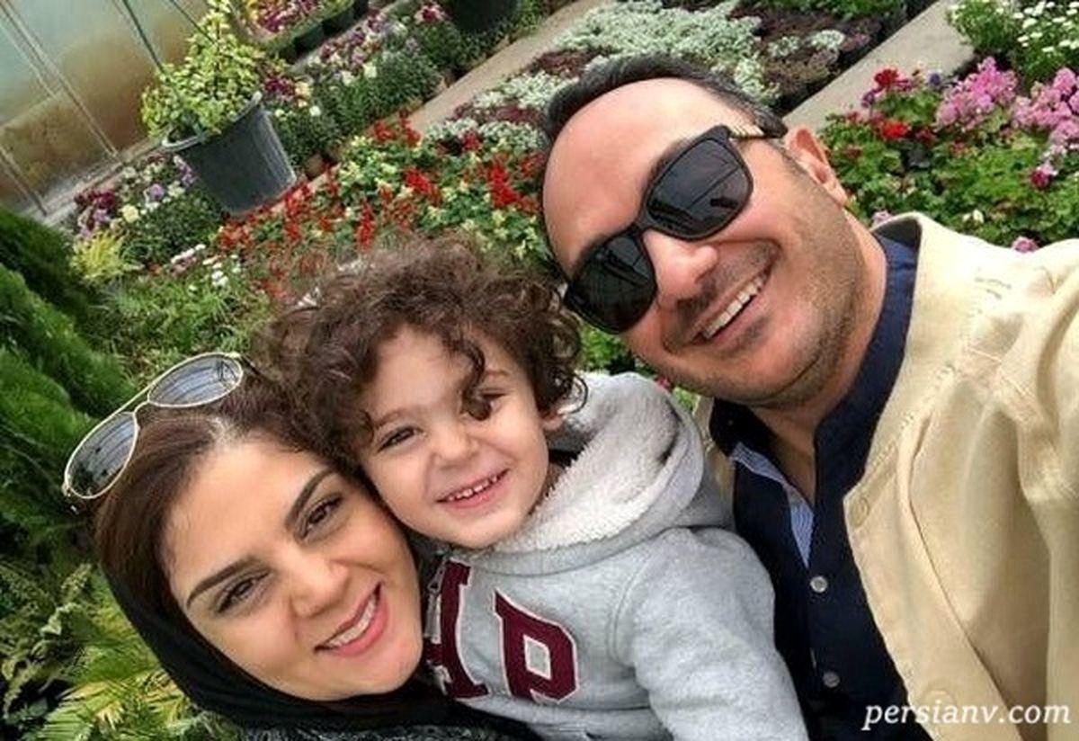 دور دور احسان کرمی و فرزندش با خودرو لاکچری اش! +تصاویر لورفته