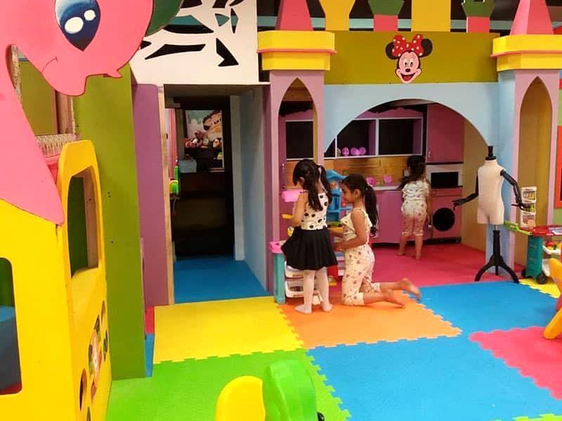 ایمنی خانه بازی کودک