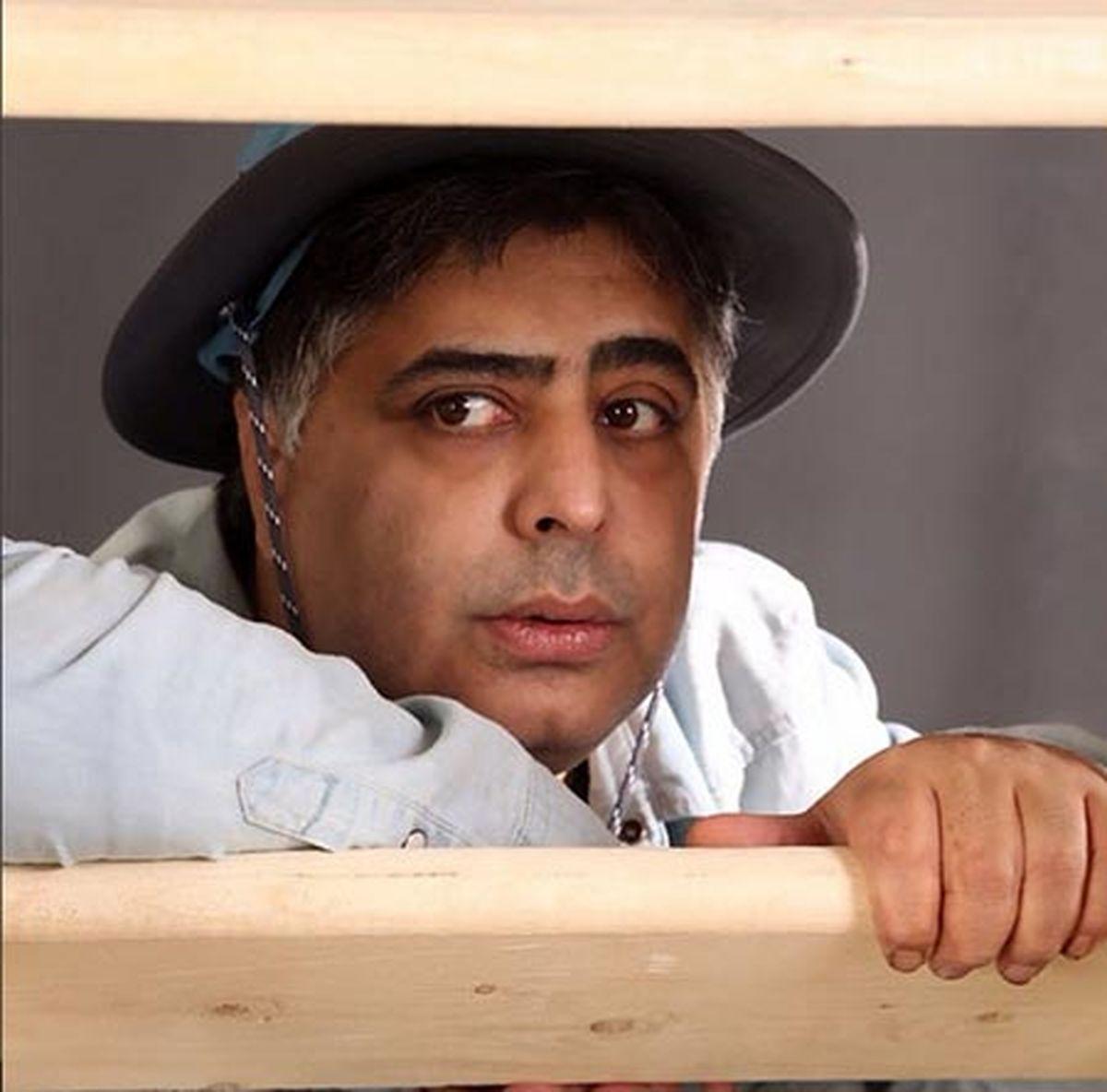 رضا شفیعی جم با بامزه ترین ماسک دنیا +تصویر