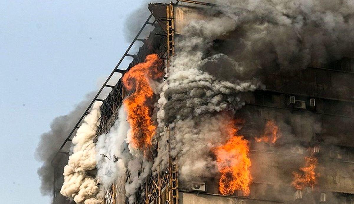 جزئیات آتش سوزی پلاسکو بعد فاش شد