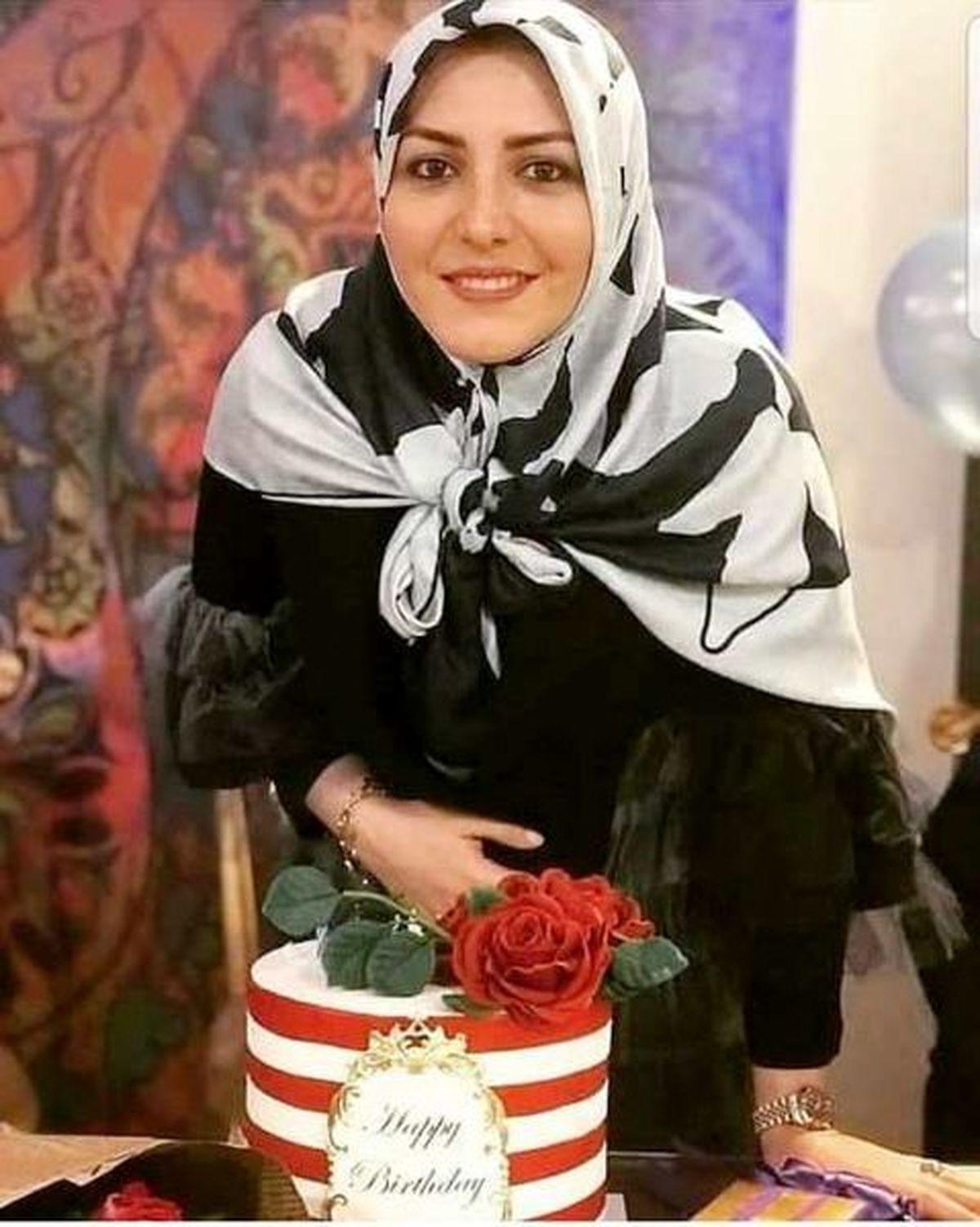 خوشحالی المیرا شریفی مقدم مجری معروف بعد از قهرمانی