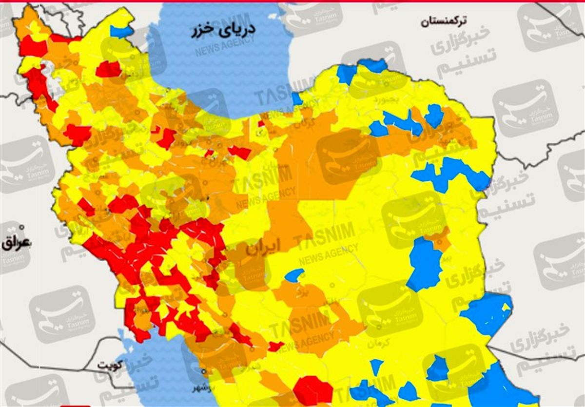 اوج گیری دوباره کرونا در شهرهای ایران
