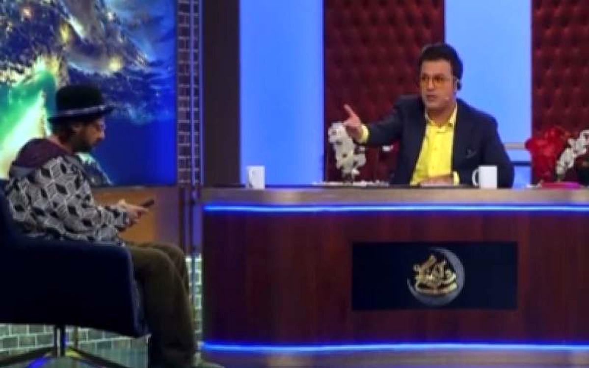 فیلم| رودستی جالب و خندهدار علی صادقی به حامد آهنگی