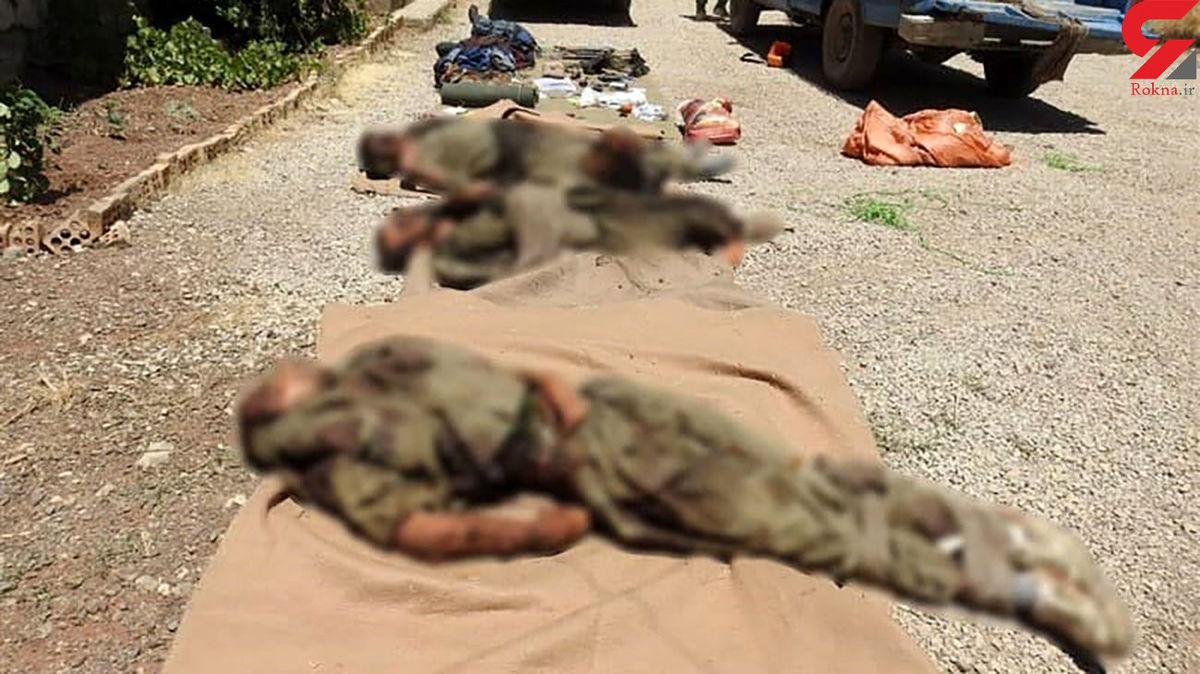 خبرفوری/حمله تروریستی در کردستان منهدم شد+عکس جناره ها