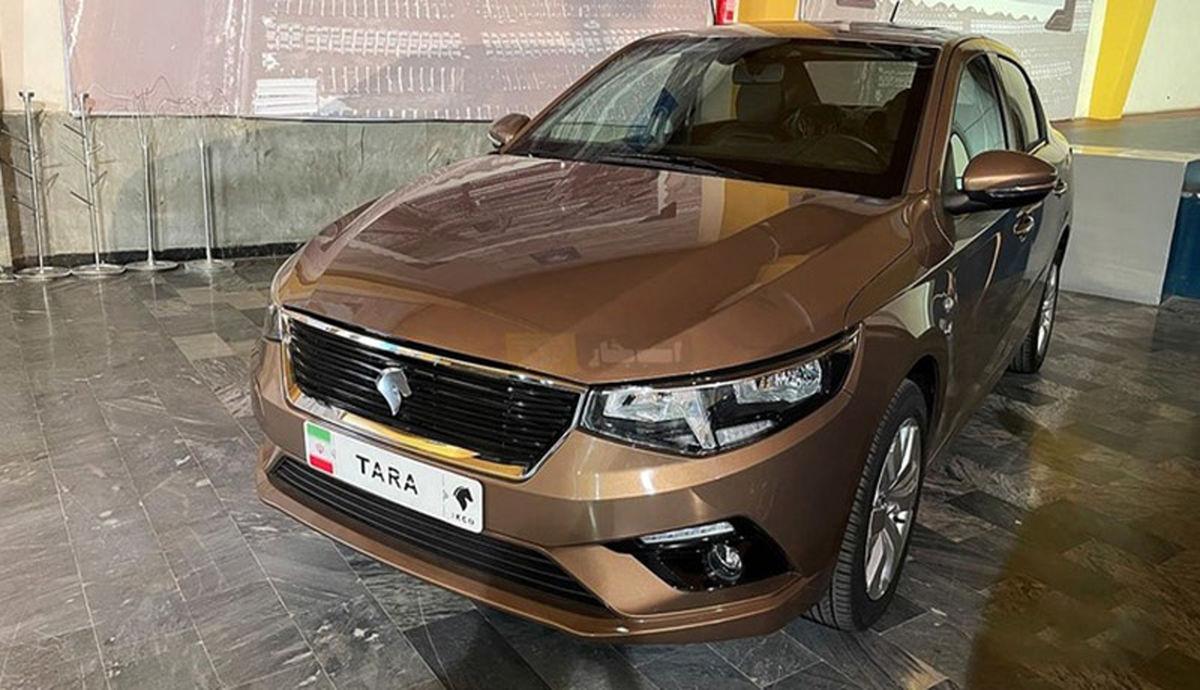 آغاز پیشفروش تارا، محصول جدید ایران خودرو +جدول