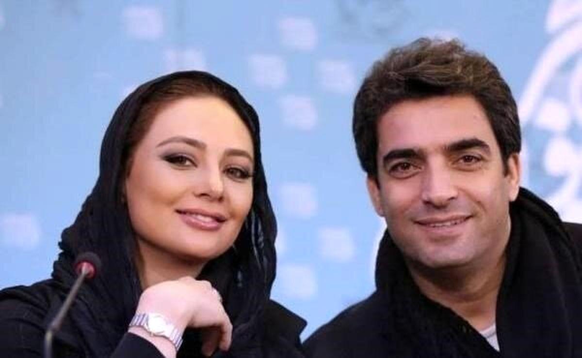 عکس دیده نشده از منوچهر هادی و یکتا ناصر در رستوران