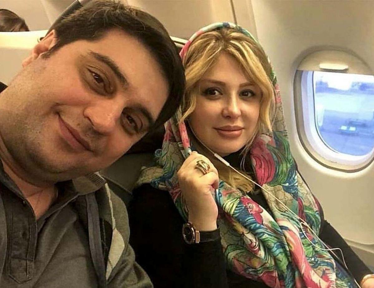 ماجرای آشنایی نیوشا ضیغمی و همسرش